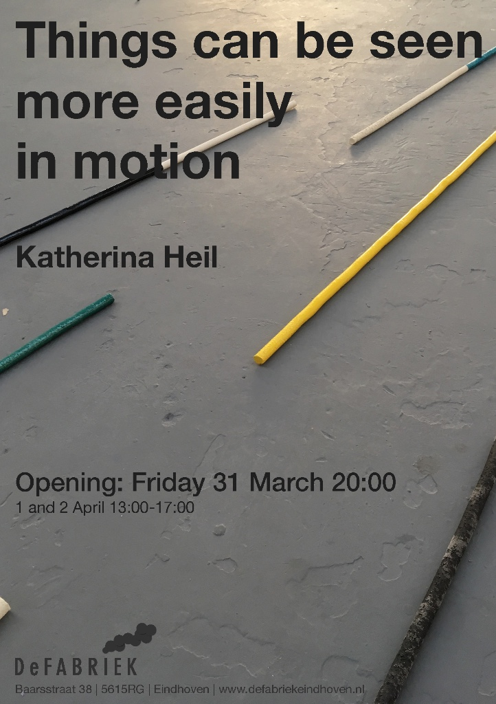 ©katherinaheil katherina heil katherinaheil soloexhibition solo eindhoven defabriek gemma medina things can be seen more easily in motion